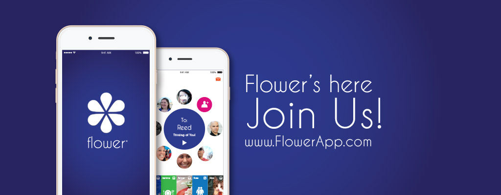 Flower App is now available in iTunes.